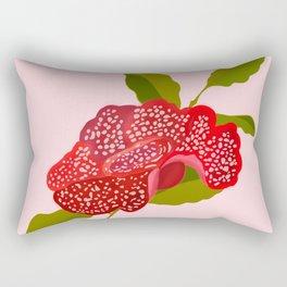 Rafflesia Rectangular Pillow