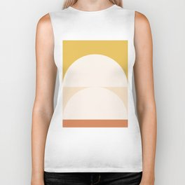 Abstract Geometric 01 Biker Tank