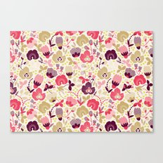 Summer Floral Canvas Print