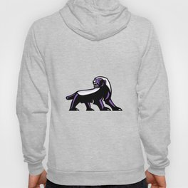 Honey Badger Full Body Mascot Hoody