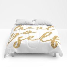 Treat Yo' Self Comforters