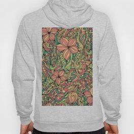 Floral delicate pattern Hoody