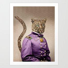 Grand Viceroy Leopold Leopard Kunstdrucke