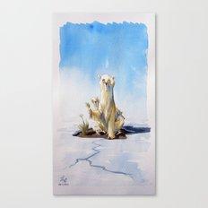 Whitepeace Canvas Print