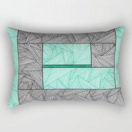 A Path Rectangular Pillow