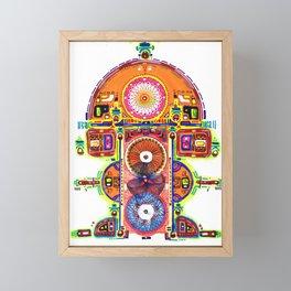 Teonanacatl Framed Mini Art Print