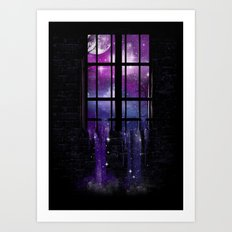 Let the Stars Flow Into You Art Print