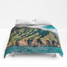 Na' Pali Coast, Kauai, Hawaii Comforters