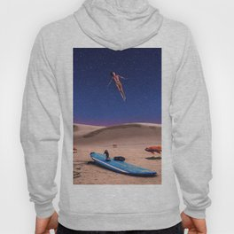 Enjoy the space, in case of no waves! Hoody