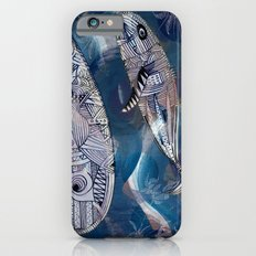 game with whales iPhone 6s Slim Case
