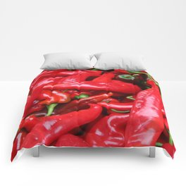 Red Peppers Comforters