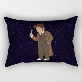 Ten (Brown Suit) Rectangular Pillow