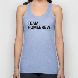 Team Homebrew Unisex Tank Top