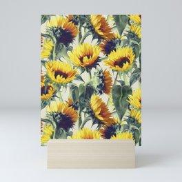 Sunflowers Forever Mini Art Print