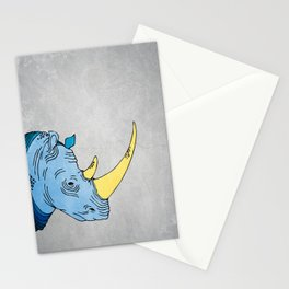 Double Trouble - Rhino Stationery Cards
