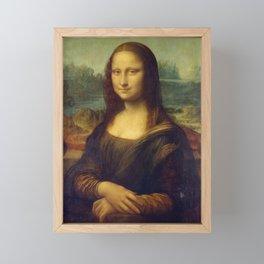 Mona Lisa Framed Mini Art Print