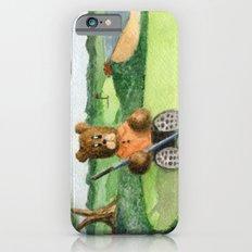 Golfer Bear Slim Case iPhone 6s