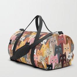 Cats Pattern Duffle Bag