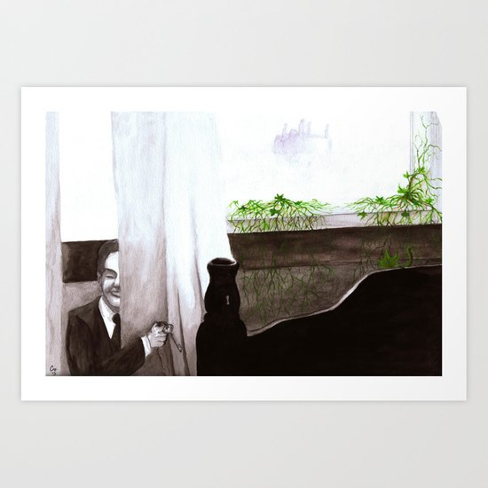 """Give Up"" by Cap Blackard Art Print"