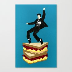 Homage To Elvis Canvas Print