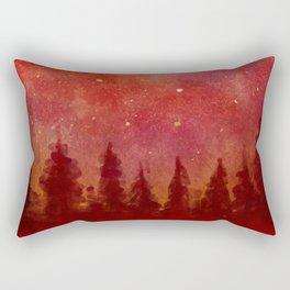 Fire Heaven Rectangular Pillow