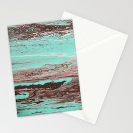Tidal Shifts of Dawn and Dusk Stationery Cards