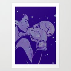 Boxing Club 2 Art Print