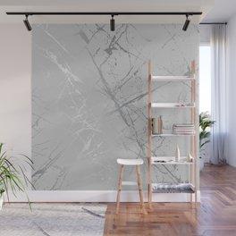 Silver Splatter 089 Wall Mural