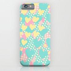 Smashed Pastel Icecreams iPhone 6s Slim Case