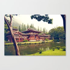 Byodo-In Temple/ Hawaii Canvas Print