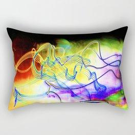 SYNESTHESIA Light Painting Experiment 117 Rectangular Pillow