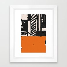 Heute Framed Art Print