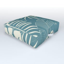 Tropical pattern 047 Outdoor Floor Cushion