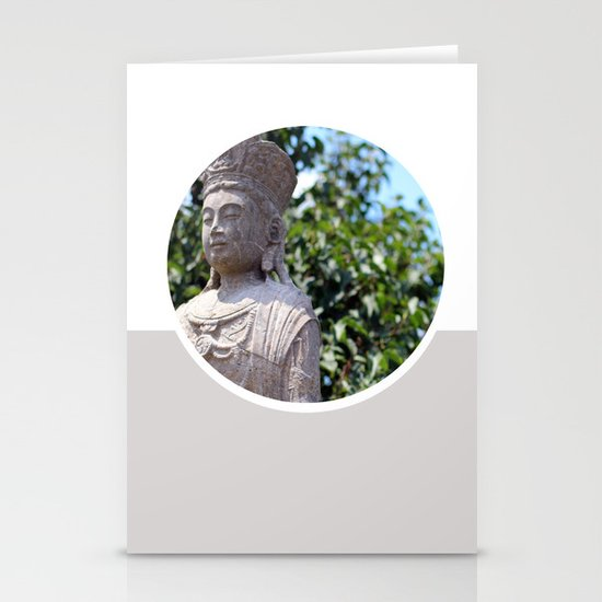 Frank Lloyd Wright's Statue Stationery Cards