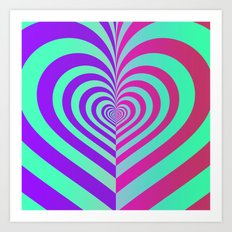Half A Heart #9 Art Print