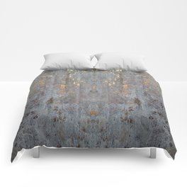 GOLDEN CONCRETE SLAB Comforters