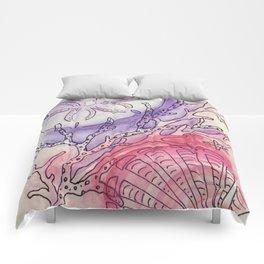 Sand Dollar & Scallop Shell Comforters