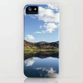 Reflections on Watendlath Tarn. Cumbria, UK. iPhone Case