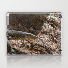 Monitor Lizard at Kinabatangan River, Borneo, Malaysia Laptop & iPad Skin