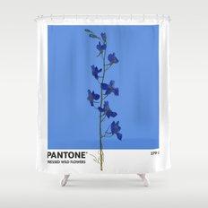 Pantone 279 U Shower Curtain