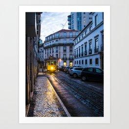 Lisbon Metro Art Print