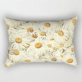 Daisies - Underfoot Rectangular Pillow
