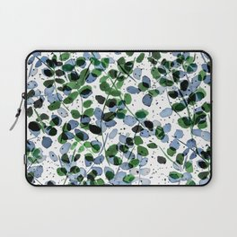 Synergy Blue and Green Laptop Sleeve