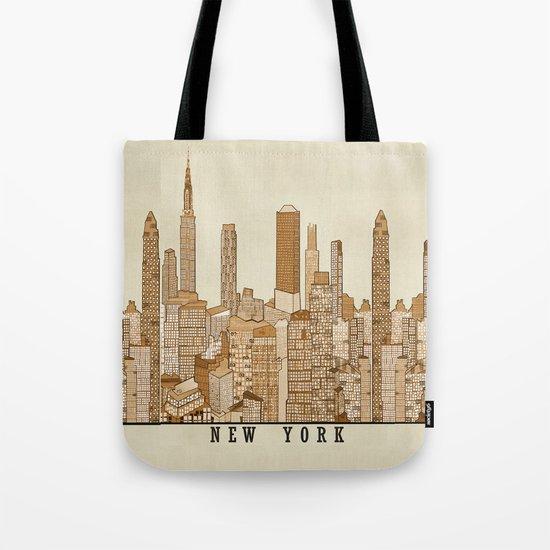 new york vintage (option) Tote Bag