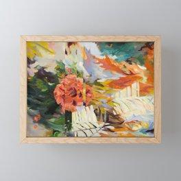 Seeking Stillness [detail 1] Framed Mini Art Print