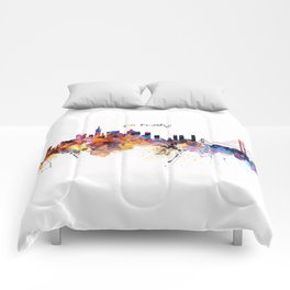 San Francisco Skyline Comforters