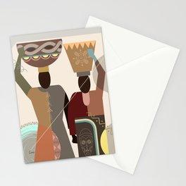 Head Romance II Stationery Cards