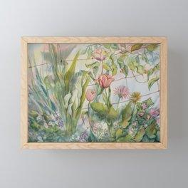 Tangled Garden Framed Mini Art Print
