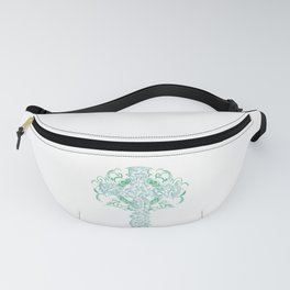 Celtic Cross Artistic Pagan Ornate Art Gift Fanny Pack