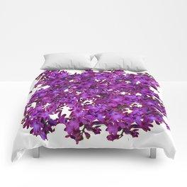 """""""Purple Hyacinth"""" Garden Queen Floras Comforters"""